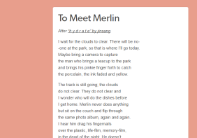 to meet merlin